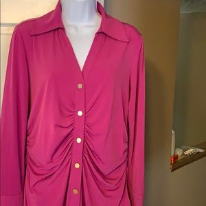 George Simonton long sleeve blouse